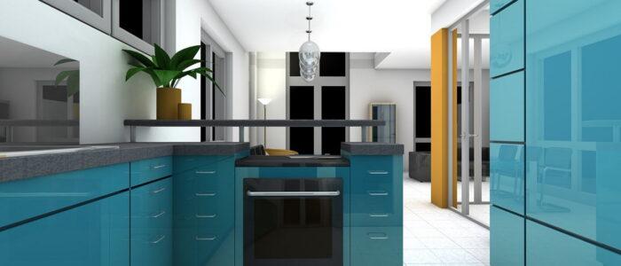 Sprytne rozwiązania pozwalające się sprawniej poruszać po małej kuchni